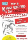 10 QUICK QUESTIONS A DAY YEAR 6 TERM 1