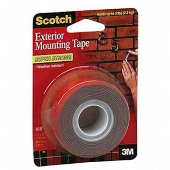 3m scotch 4011 super strength exterior mounting tape 25 4mm x