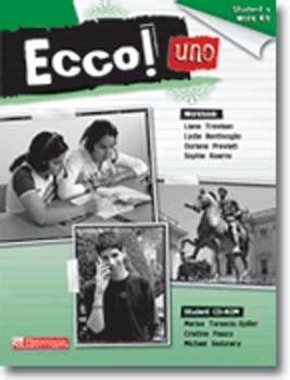 Ecco! Uno Students Work Kit (Workbook & Cd-Rom)